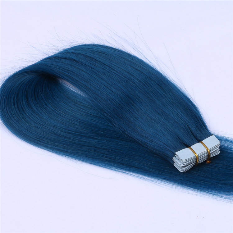 How to care tape hair extensions QM090